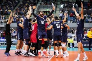 همگروههای تیمملی والیبال ایران در مسابقات جهانی مشخص شدند