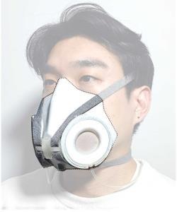 اختراع ماسکی که با ورزش و سطح آلودگی سازگار میشود