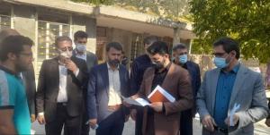 دیدار چهره به چهره وزیر کار با مردم منطقه آبسردون سفلی در مارگون