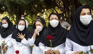 وداع تلخ با پرستار جوان در بیمارستان امام خمینی(ره)