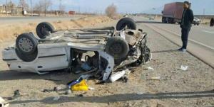 خودروی زائران کربلا در «دهلران» واژگون شد
