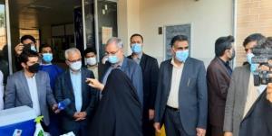 وزیر بهداشت از بیمارستان شهید رجایی گچساران بازدید کرد