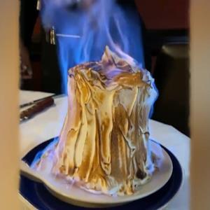آتش زدنِ خامه؛ روشی جدید برای پخت کیک