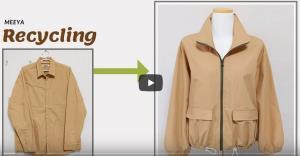آموزش دوخت کت پاییزه از پیراهن بلااستفاده