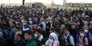 معطلی زائران و نبود وسایل حمل و نقل عمومی در مرز مهران