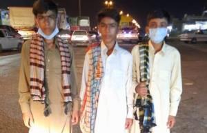 آزادی سه نوجوان پس از ۶۰ روز گروگانگیری