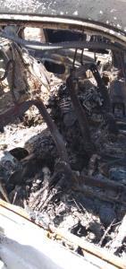 عکسهای وحشتناک از اسکلت سوخته پسر جوان در لرستان