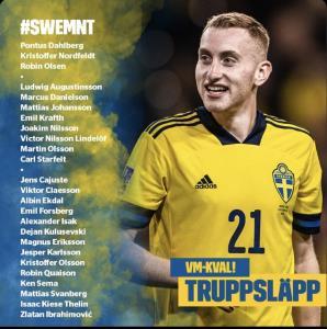 زلاتان از فهرست تیم ملی سوئد خط خورد
