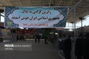 ورود ۶۲ هزار و ۲۰۰ زائر اربعین به کشور از طریق مرز مهران