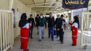 امدادرسانی هلالاحمر به هفت هزار زائر اربعین حسینی