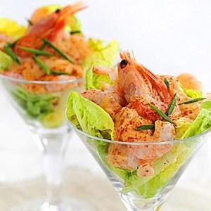 «کوکتل میگو»؛ یک پیش غذای دریایی خیلی خاص