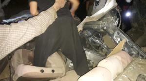 تصادف وحشتناک در محور روانسر به کرمانشاه ۲ کشته برجای گذاشت