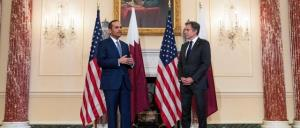 گفتگوی تلفنی وزبران خارجه قطر و آمریکا درباره افغانستان