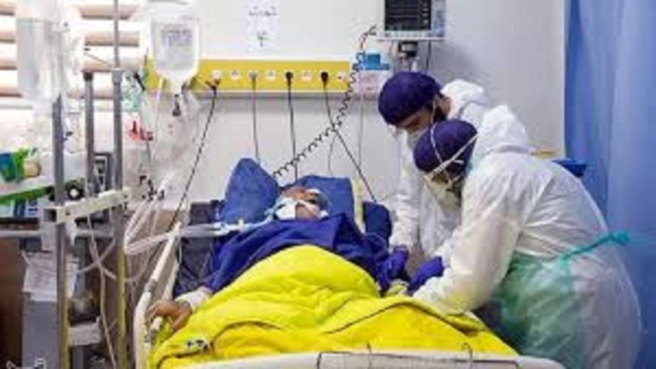 کرونا ۳۷۱ بیمار را اسیر تختهای بیمارستان کرده است
