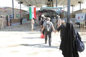 ورود ۶۸ هزار زائر از پایانه مرز مهران به کشور