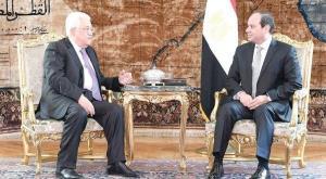 سیسی به عباس: میخواهیم تشکیلات خودگردان به غزه بازگردد