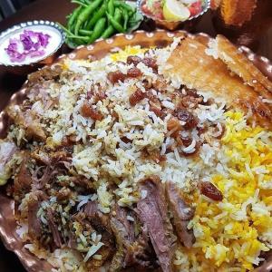 «تهچین گرمساری»؛ غذای اصیل ایرانی با روش سنتی