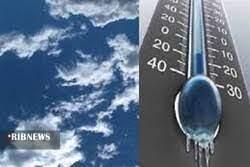 تداوم کاهش دمای زنجان تا روز یکشنبه