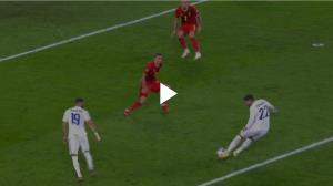 گل سوم فرانسه به بلژیک توسط تئو هرناندز