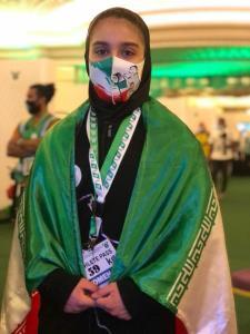 نخستین مدال کاروان به نام بانوان شد/ حسینی برنز دوضرب جهان را کسب کرد