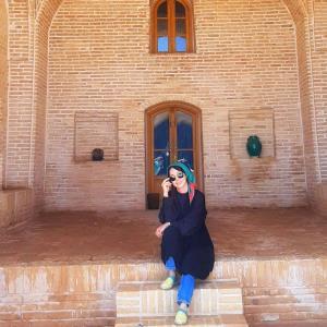 چهرهها/ شهرزاد کمالزاده در کویر مرنجاب