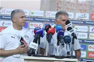کیروش: در حال حاضر وضعیت لیبی بهتر از مصر است