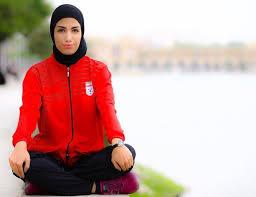 زیباترین تصویر از بازیکن زن تیم فوتبال سپاهان