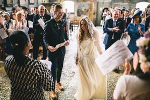 سورپرایز عروس و داماد برای مهمان ها