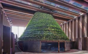زیستگاه موقت صحرایی در غرفه هلند