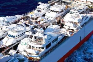 آسانسور دریایی برای حمل و نقل قایق و کشتیهای کوچک