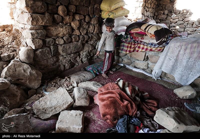 خسارت زلزله به ۲۲۳ روستا در چلگرد؛ ۵۰ خانوار اسکان اضطراری شدند