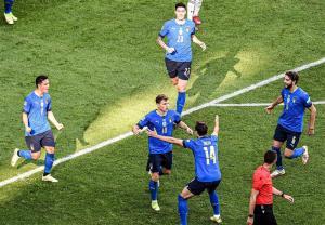 ایتالیا با شکست بلژیک سوم شد