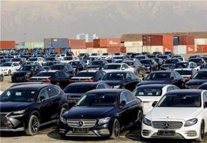 توقیف ۹۰۰ خودرو وارداتی با برندهای