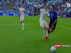 گل دوم ایتالیا به بلژیک توسط براردی