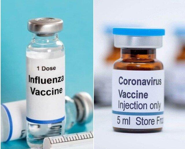 بایدها و نبایدهای تزریق همزمان واکسن آنفلوانزا و کرونا