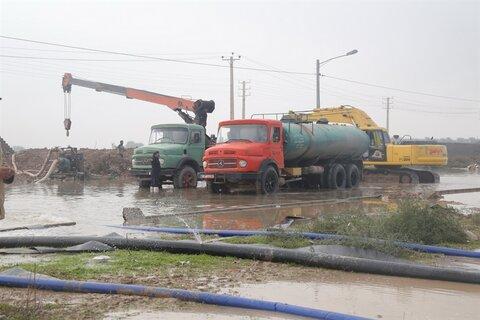 تسریع در اجرای پروژههای انتقال آبهای سطحی در ساری