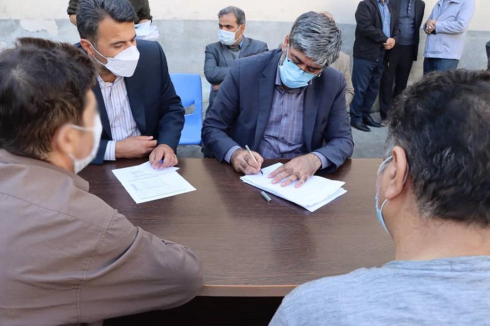 بازدید رئیس کل دادگستری آذربایجانغربی از زندان سلماس