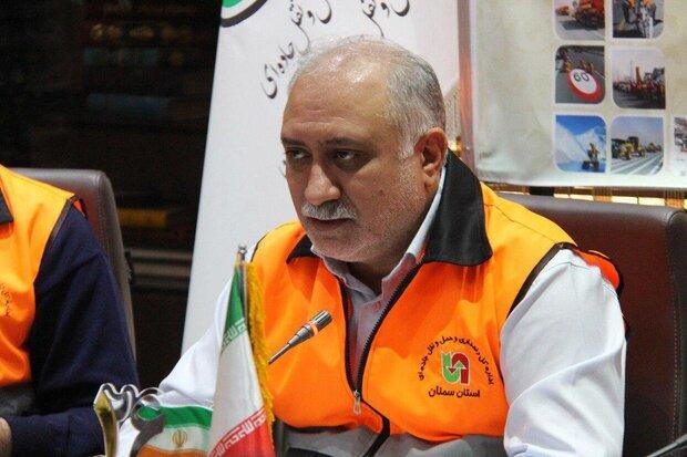 ۲.۶ میلیون تردد در جادههای استان سمنان رقم خورد