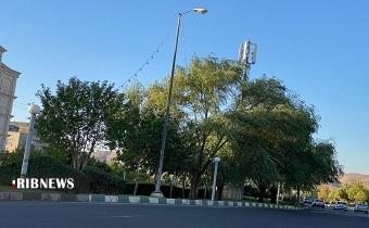 روند افزایشی دمای هوا در استان زنجان