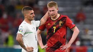 دیبروین: بلژیک توان رقابت با ایتالیا و فرانسه را ندارد