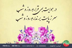 تاکید بر خوانش صحیح اشعار فارسی در یک برنامه