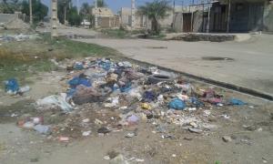 عکس/ انباشت زباله در شهر سوسنگرد