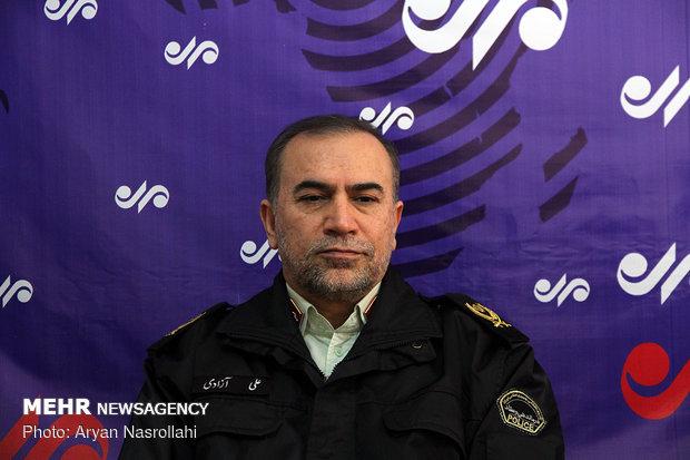 دستور ویژه فرمانده انتظامی کردستان در خصوص حادثه مجتمع ادب سنندج