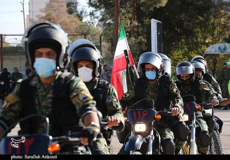 مانور اقتدار یگان ویژه استان کرمان از دریچه دوربین