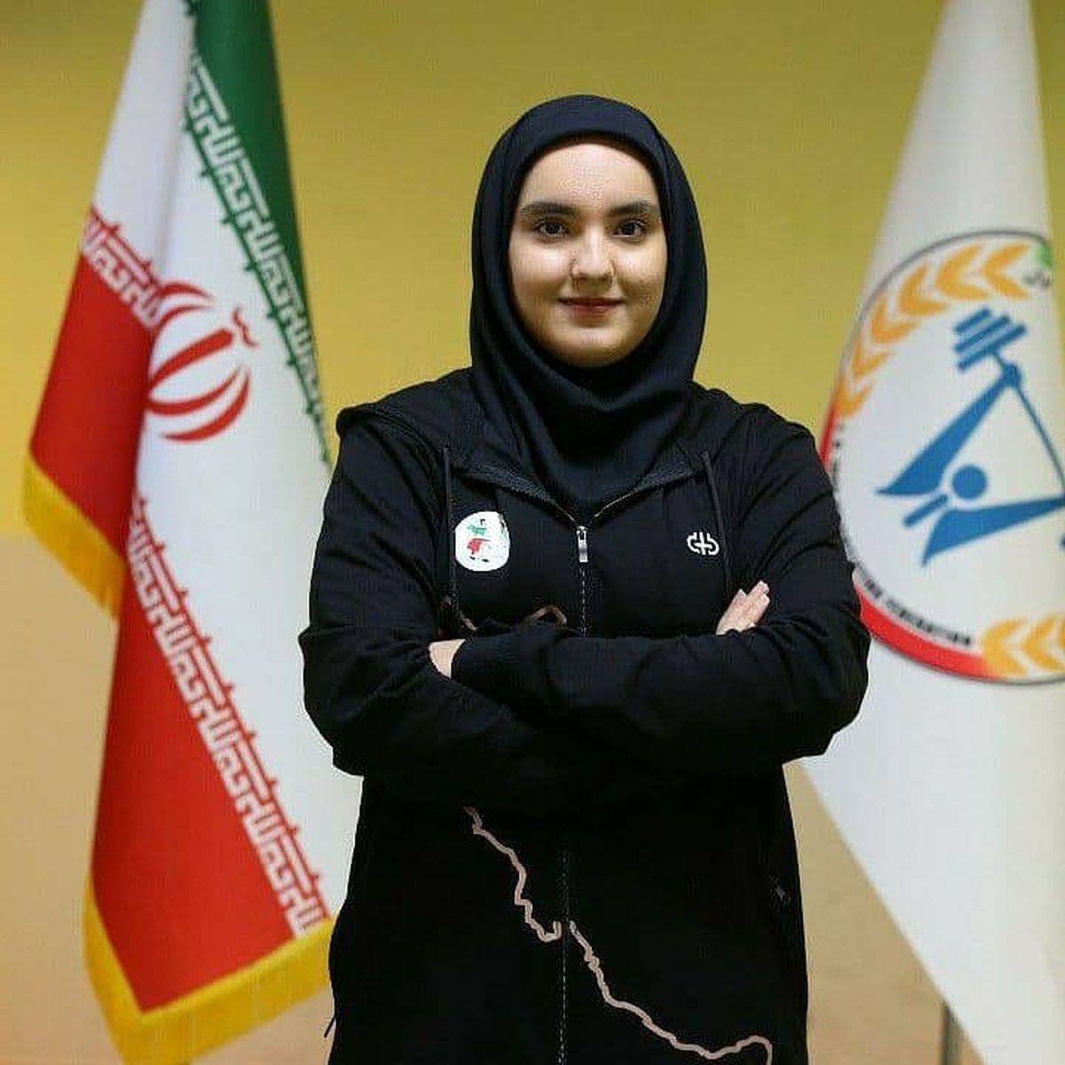 درخشش دختر وزنهبردار کردستانی در رقابتهای جهانی وزنهبرداری