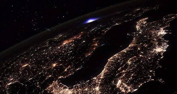 ثبت تصویر نورهای اسرارآمیز روی زمین از ایستگاه فضایی بین المللی خبرساز شد