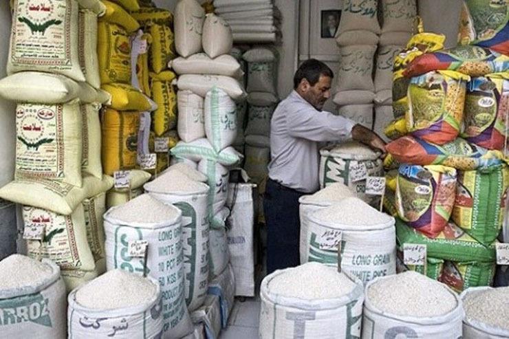بازار برنج دچار رکود شد