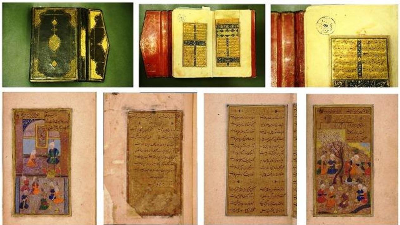 نگهداری از نفیسترین نسخ خطی و سنگی دیوان حافظ در کتابخانه ملی