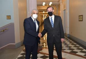 رایزنی مشاور امنیت ملی آمریکا و وزیر خارجه رژیم صهیونیستی درباره ایران