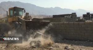 آزادسازی ۱۶ هزار متر مربع اراضی تصرف شده در کنگان